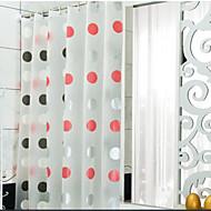 Vogue Thicken Waterproof Colorful Flower Bathroom Shower Curtain PEVA Bath