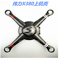 WLToys / XK X380 WLToys Parts Accessories RC Quadcopters / RC Airplanes / RC Helicopters Black