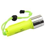 Iluminação Lanternas LED LED 2000 Lumens 1 Modo Cree XM-L2 T6 18650.0Prova-de-Água / Resistente ao Impacto / Emergência / Alta