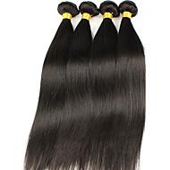Peruvian Virgin Hair Straight 4Pcs 7A Unprocessed Virgin Peruvian Straight Hair,Cheap Price Human Hair Extension