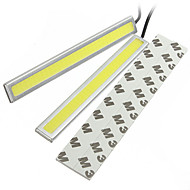 2 Bars 12V 60W Epistar COB LED Car LED Fog Lamp Bar Universal Car LED DRL Car LED Turn Signal Lamp