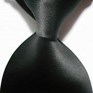 Галстук(Черный,Полиэстер)Однотонный