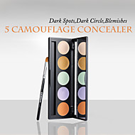 Red&Black 5 Concealer Palette 5×1.5g Flawless Coverage Spots Extension