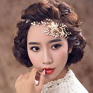Mujer Aleación / Perla Artificial Celada-Boda / Ocasión especial Bandas de cabeza 1 Pieza