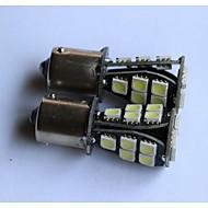 1156/1157 / t20 / t25 5050-18smd carro do lado da lâmpada de luz de freio cauda luz por sua vez invertendo marcador de luz branca vermelho