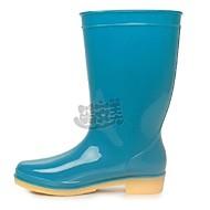 נעלי נשים-מגפיים-גומי-מגפי גשם-כחול / ירוק / סגול-שטח-עקב שטוח