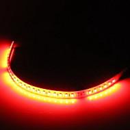 Car Flexible Dc 12V 30Cm Red 32 Led Strip Grill Light Lamp Bulb