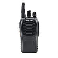 baofeng bf-888s uhf fm transceiver høy belysning lommelykt walkie talkie