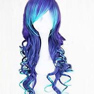 Sort - Syntetisk - Wig Kvinder