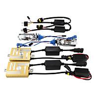 12v55w skryl balastu dekódování světlometů konverzní kit žárovky H4 objektiv 3000K 4300k 5000k 6000K 8000K
