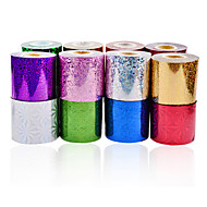1roll nail art foils-Autre décorations-Doigt / Orteil- enAbstrait-6cmX120m each piece