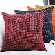 Polyester Pillow Cover , Thick Woven 4PCS