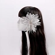 Dame / Blomsterpige Fjær / Rhinestone / Tyll Headpiece Bryllup / Spesiell Leilighet / Avslappet BlomsterBryllup / Spesiell Leilighet /