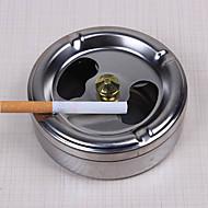 aço inoxidável prática de fumar rotação cinzeiro tampa totalmente fechado aparelhos domésticos