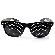 1XBlack Improver Eyesight Anti-fatigue Pinhole Glasses Stenopeic Vision Care Hot