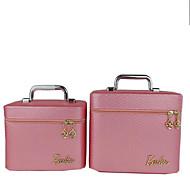 Women PU Professioanl Use Cosmetic Bag Pink / Purple / Blue / Gold / Black / Burgundy / Champagne