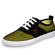 Men's Shoes Casual Tulle Fashion Sneakers Blue / Yellow / Green