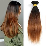 Cabelo Humano Ondulado Cabelo Brasileiro Retas 1 Peça tece cabelo