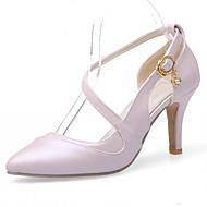 נעלי נשים-בלרינה\עקבים-דמוי עור-עקבים-כחול / ורוד / לבן-משרד ועבודה / שמלה / קז'ואל-עקב סטילטו