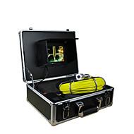 putki valvontajärjestelmä 30m katselu putki putken seinämän 7 tuuman TFT kamera 12 LED-valot 4gb kortti record