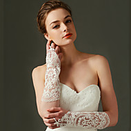 Elbow Length Fingerless Glove Nylon Bridal Gloves / Party/ Evening Gloves