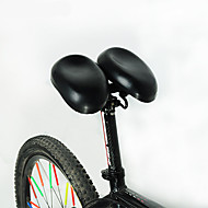 Sykkelsete Sykling / Fjellsykkel / Vei Sykkel / Fixed Gear Bike / Fritidssykling / Dame Steel / ABS # Svart-Acacia