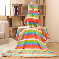 קריקטורת כרית כרית כותנת חידוש חמודה עם שמיכה להוסיף לקישוט הבית (צבע אקראי)