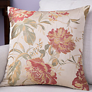Jacquard Cushion Cover -Beige