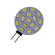 G4 GZ4 MR11 7.5W 15x5730/5630SMD LED 550LM 3500K 6000K  Warm White/Cool White LED Spot Lights Light Bulb  DC/AC 9-36V