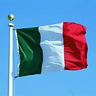 Nový 90 * 150 cm visí velký itálie vlajky poutač krytý venkovní domova (ne stožár)