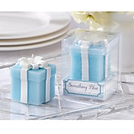 Something Blue Wedding Gift Candle