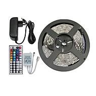 5m 150x5050 SMD rgb ha condotto la luce della striscia e il telecomando 44key e 3A alimentazione (AC110-240V)