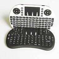 v8 na bateria esquilos voadores 2.4G o touchpad mini teclado sem fio para caixa de Smart TV android