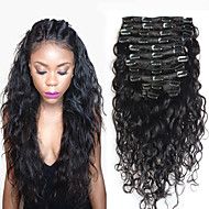 Extensões de cabelo humano 100% Natural 120 8 10 12 14 16 18 20 22 24 26 28 30 Aplique de cabelo