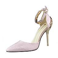 Scarpe Donna-Scarpe col tacco-Matrimonio / Formale / Serata e festa-Tacchi / A punta-A stiletto-Finta pelle-Nero / Rosa / Rosso / Bianco
