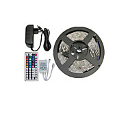 5050 150 smd rgb en 44key afstandsbediening en 3a eu voeding (ac110-240v) led strips light