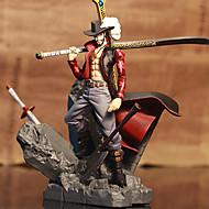 One Piece Dracula Mihawk PVC 15CM Anime Action Figures Model Toys Doll Toy