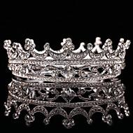 Mujer / Niña de flor Diamantes Sintéticos / Aleación Celada-Boda / Ocasión especial Tiaras 1 Pieza