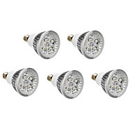 5pcs E14 4W 400-450LM Warm/Natural/Cool White LED Spotlight AC 220-240V