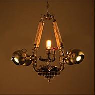 Luzes Pingente ,  Rústico Outros Característica for Estilo Mini MetalSala de Estar Quarto Sala de Jantar Quarto de Estudo/Escritório