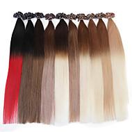 neitsi 20 pollici 1g / s 100g ombre chiodo fusione cheratina u punta diritta estensioni dei capelli umani di 100%