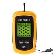 100m Portable Sonar Sensor Fish Finder Fishfinder Hälytys Beam Anturi