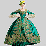 steampunk®18th tallet rokokkostil Marie Antoinette kjole