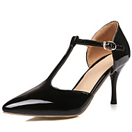 Women's Shoes Patent Leather/Stiletto Heel/D'Orsay & Two-Piece/T-Strap/Pointed Toe Heels Party & Evening/Dress