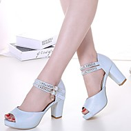 Women's Shoes Leatherette Chunky Heel Heels / Fashion Boots / Shoes & Matching Bags /SlippersSandals / Heels /