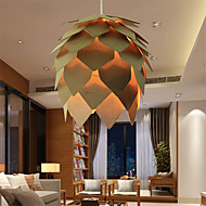 12W Vintage LED Others Wood/Bamboo Pendant Lights Living Room / Bedroom / Dining Room / Study Room/Office / Hallway