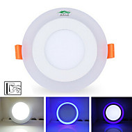 Zweihnder W447 LED  6W+3W 3Model LED Lamp Panel Light Double Color LED Ceiling Recessed Lights Indoor Lighting
