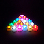 1pcs/Set Mini Multi Colors LED Electronic Candle Lamp For Wedding Party Christmas Decoration