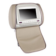 7 Inches Car Headrest DVD Player in Grey