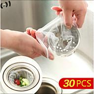 30pcs Bolsas Filtrantes tanque de água de drenagem de lodo de filtro de sacos de impedir que a tela do filtro do filtro de lixo saco de
